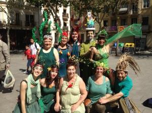 Grupo danza libre Marabal
